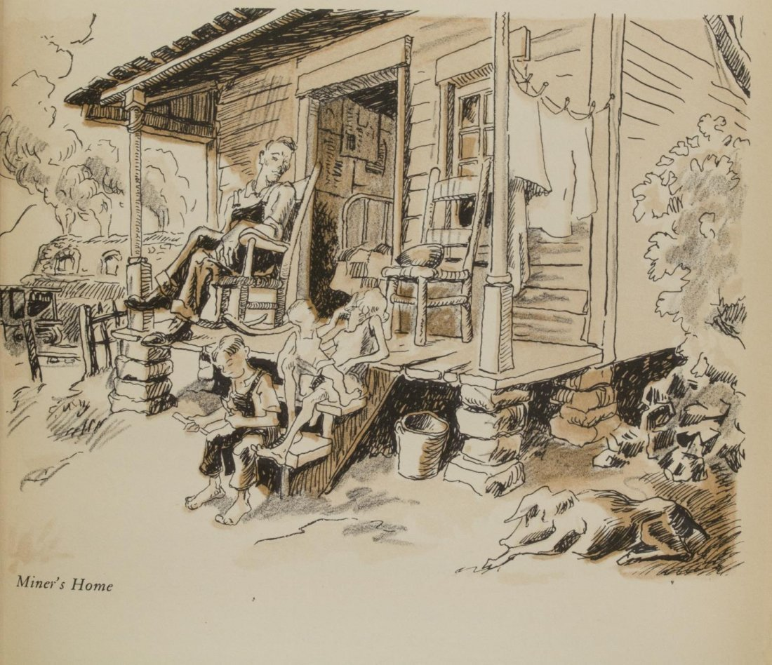THOMAS HART BENTON (1889-1975) ORIGINAL ILLUSTRATION - 9