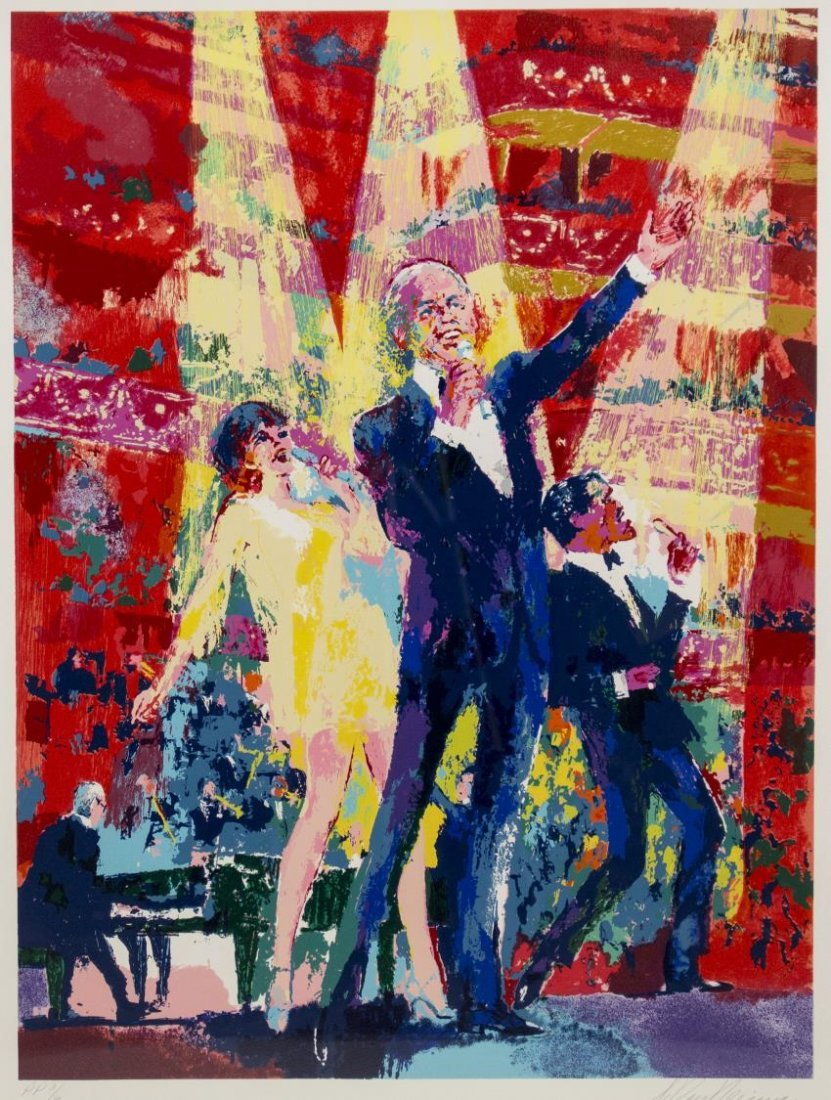 LEROY NEIMAN SINATRA AT ALBERT HALL, #3 OF 6