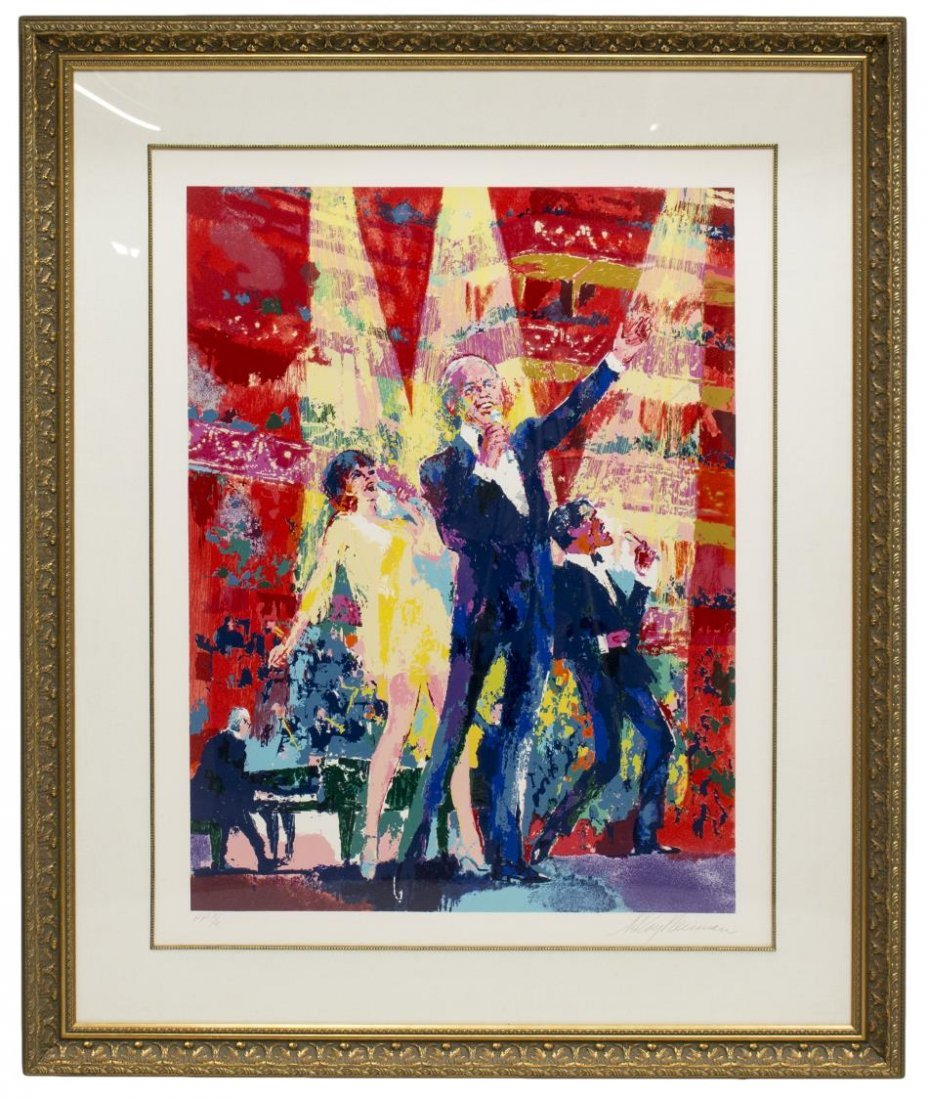LEROY NEIMAN SINATRA AT ALBERT HALL, #3 OF 6 - 2