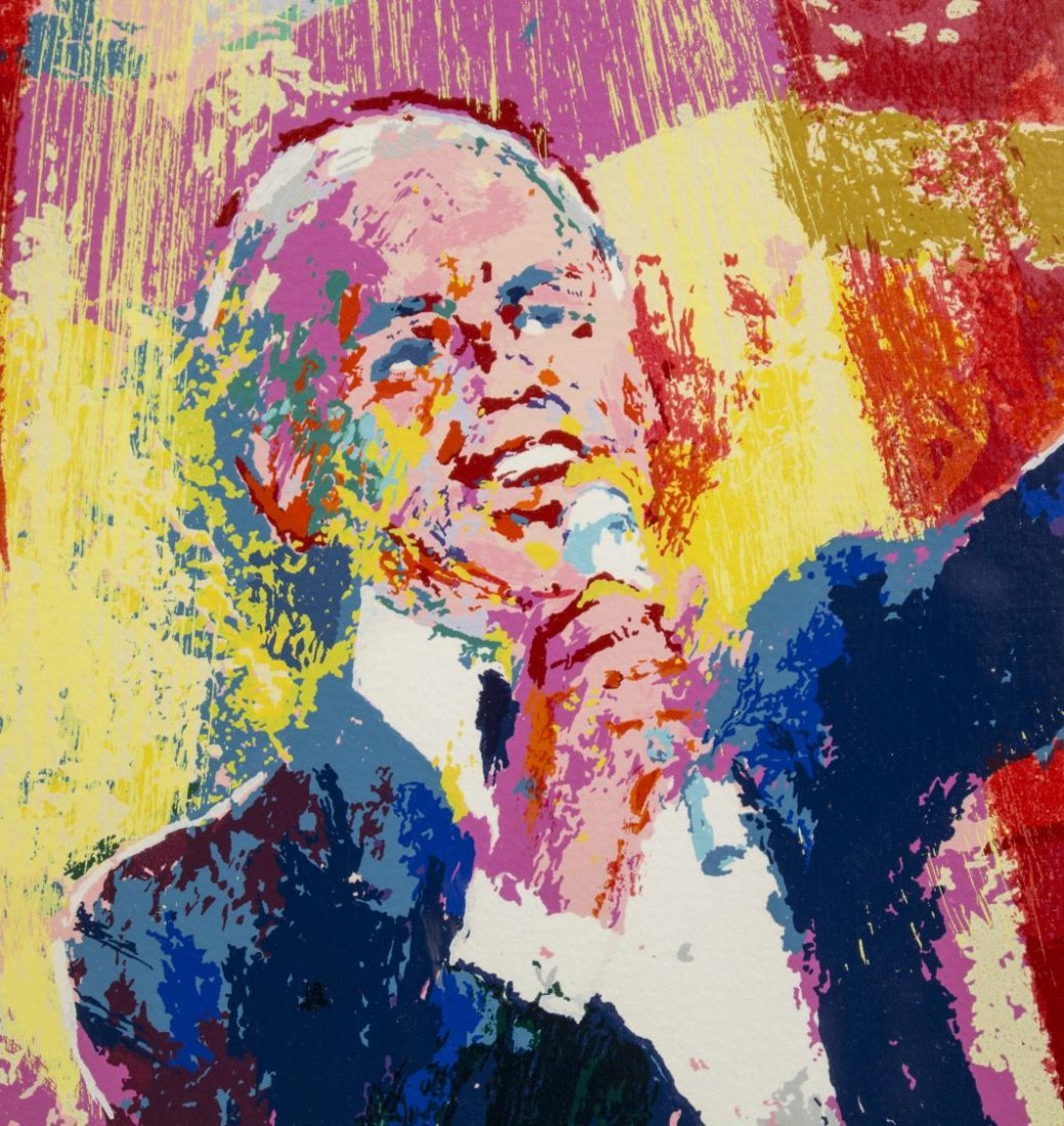 LEROY NEIMAN SINATRA AT ALBERT HALL, #3 OF 6 - 4