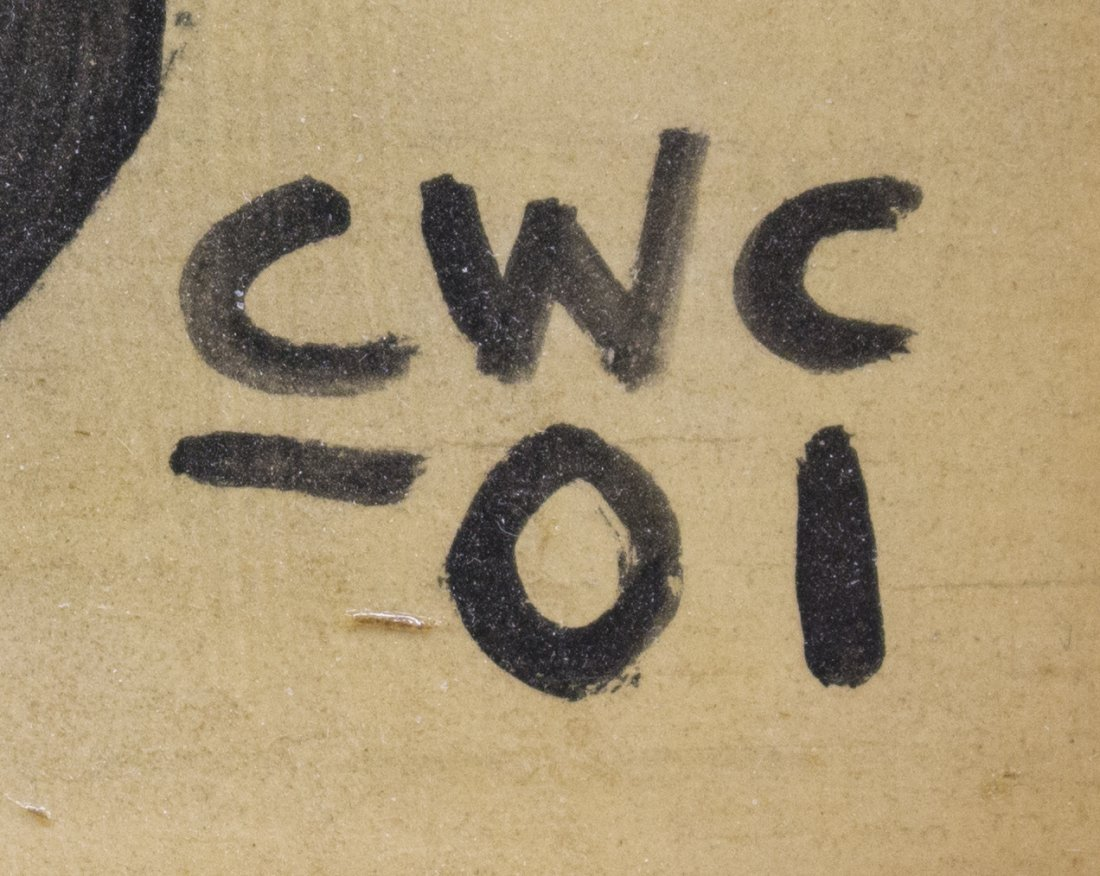 C.W. CONNER (GEORGIA, B. 1938) FOLK ART PAINTING - 4