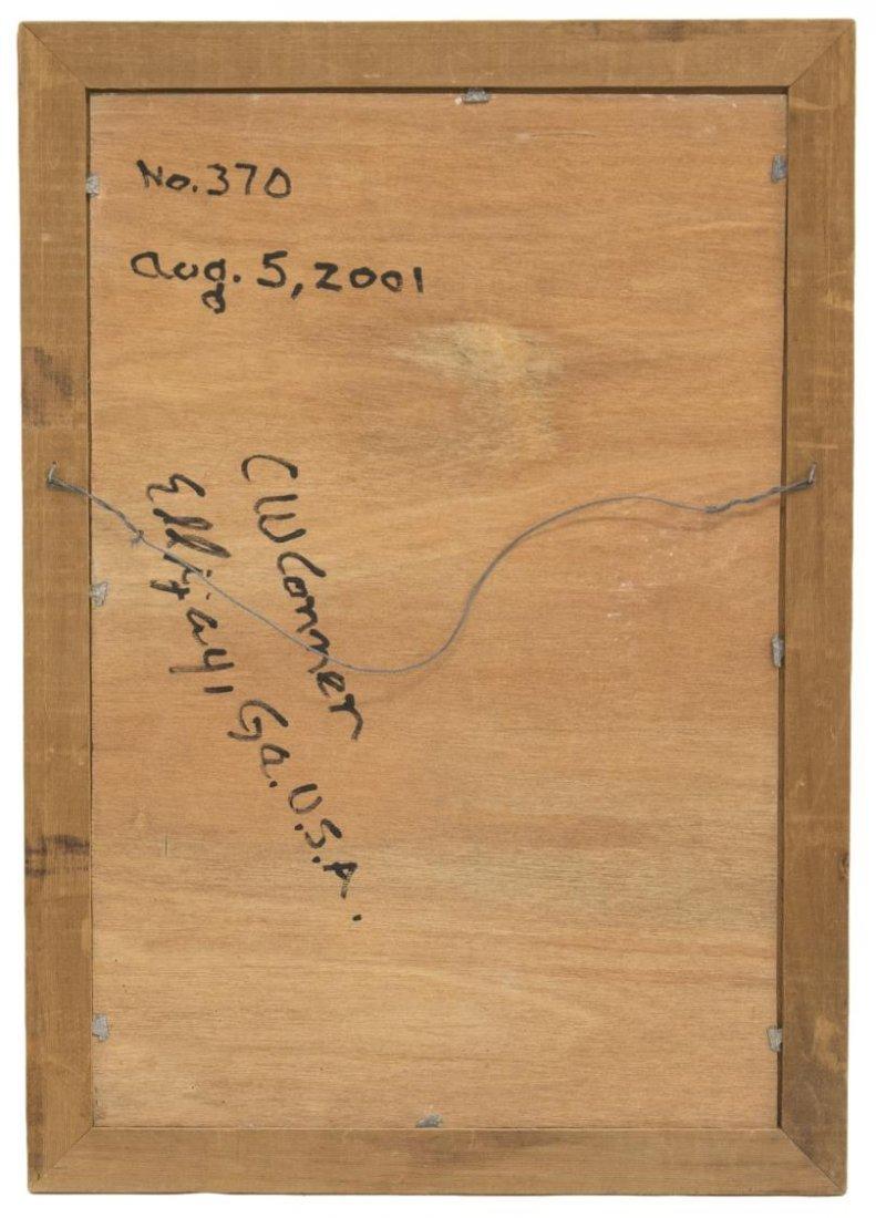 C.W. CONNER (GEORGIA, B. 1938) FOLK ART PAINTING - 5