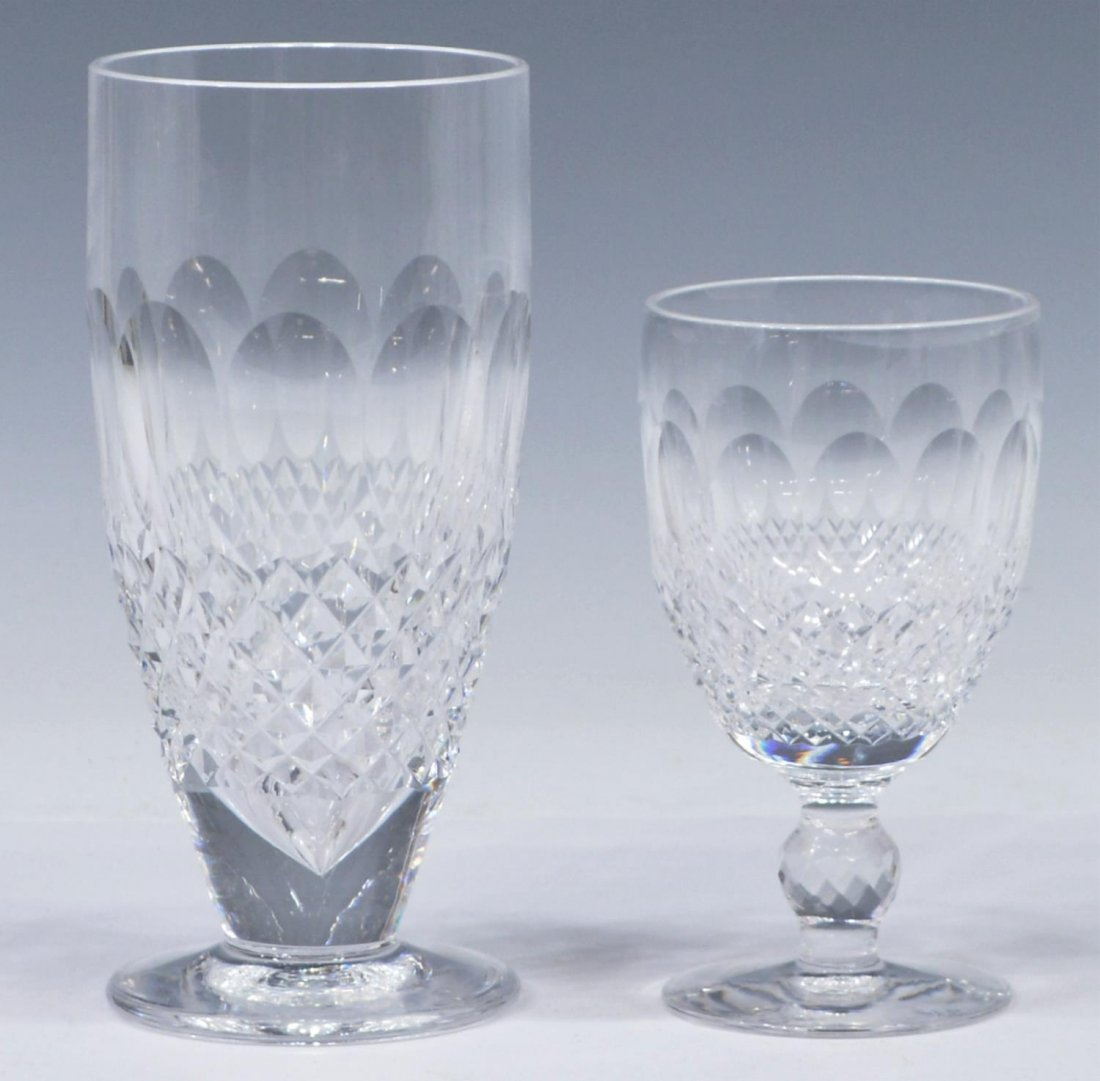 (10) WATERFORD COLLEEN CRYSTAL GLASSES & STEMWARE - 2