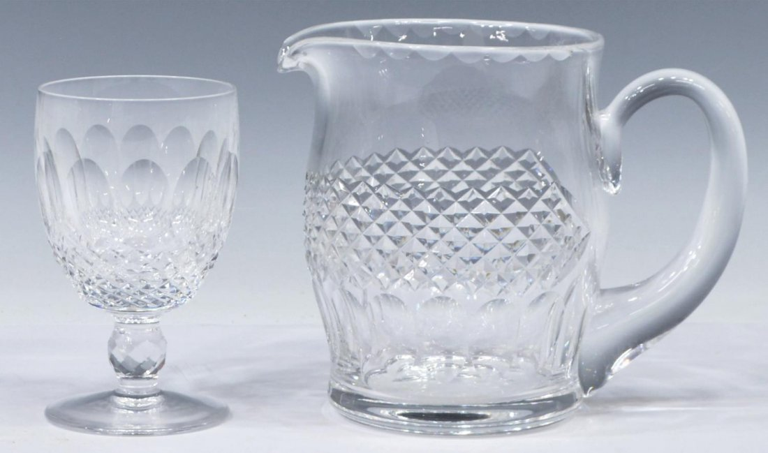 (13) WATERFORD COLLEEN CRYSTAL STEMWARE GOBLETS - 2