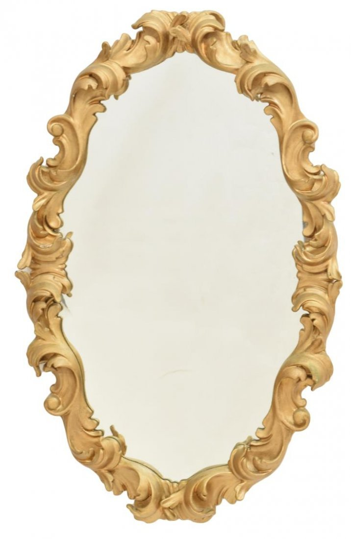 ITALIAN BAROQUE STYLE COMPOSITION WALL MIRROR - 2