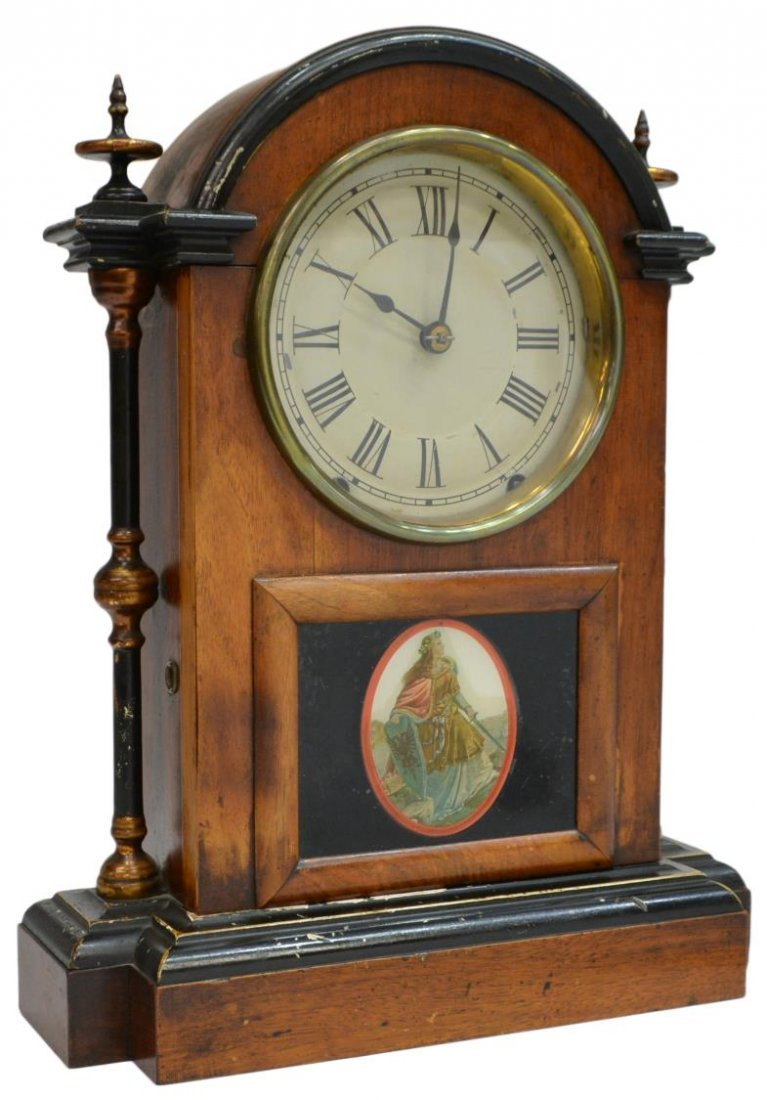 SETH THOMAS EIGHT DAY SHELF CLOCK - 2