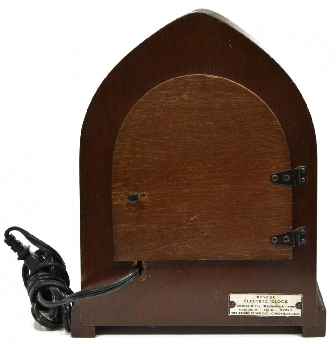 REVERE WESTMINSTER CHIMING ELECTRIC CLOCK OPERATES - 5