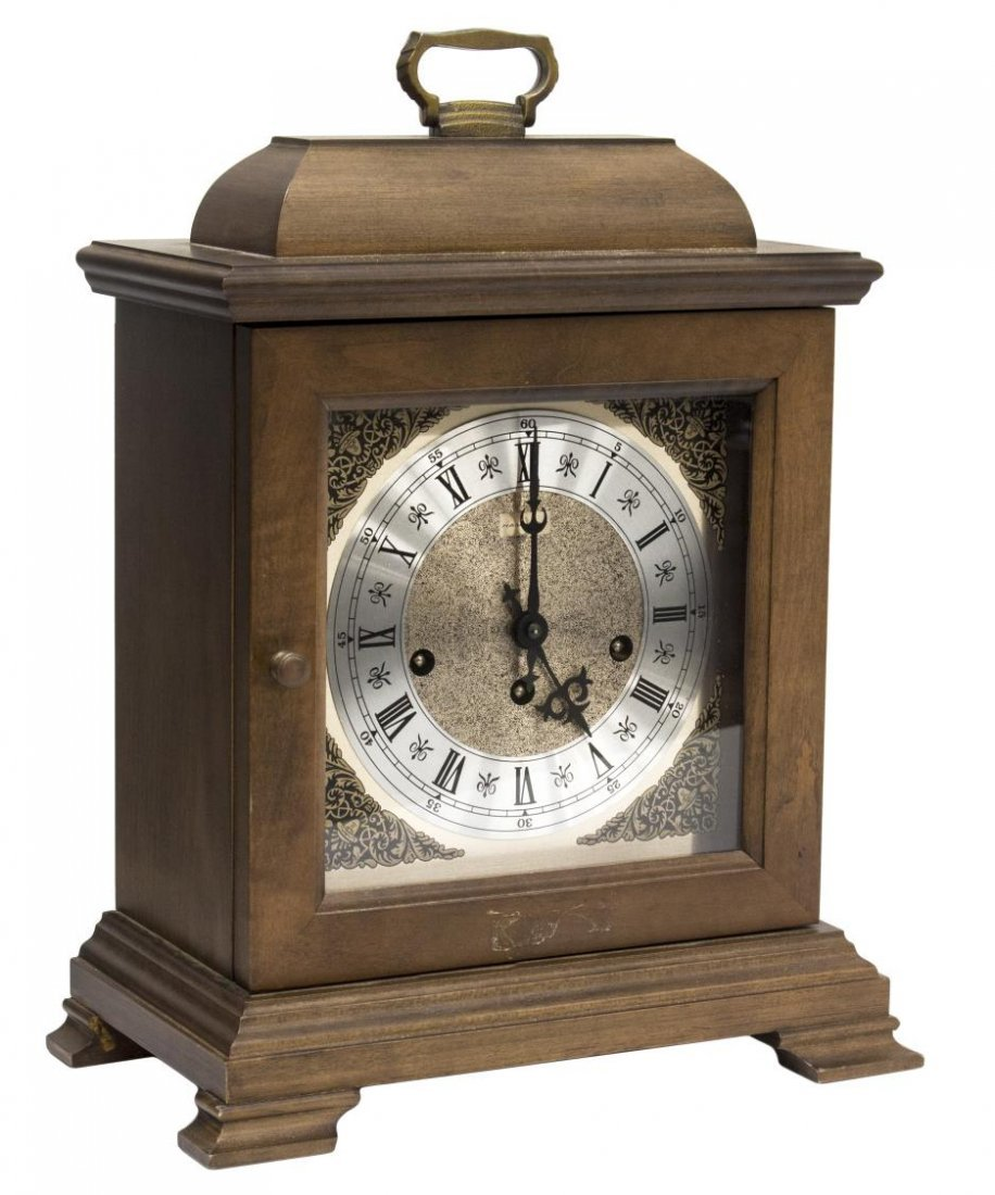 "VINTAGE HAMILTON ""WHEATLAND"" MANTLE CLOCK"