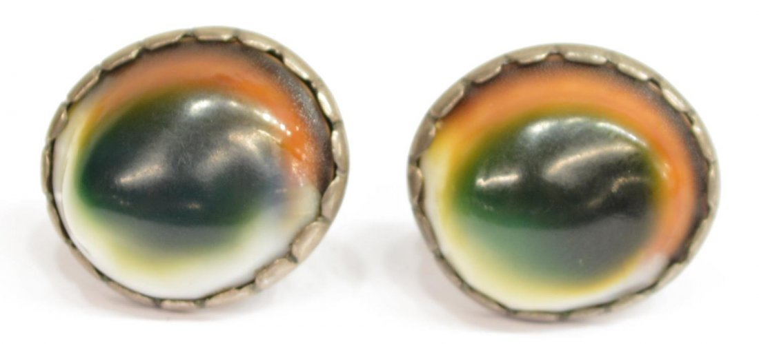 6) LADIES ESTATE STERLING & STONE SOUTWEST JEWELRY - 4