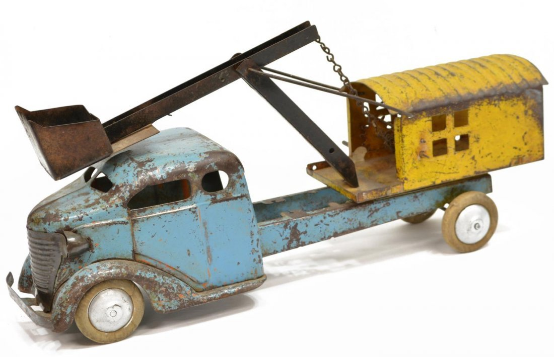 TURNER TOY STEAM SHOVEL TRUCK