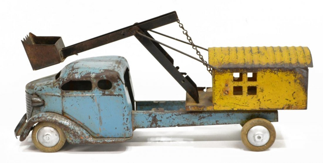 TURNER TOY STEAM SHOVEL TRUCK - 2