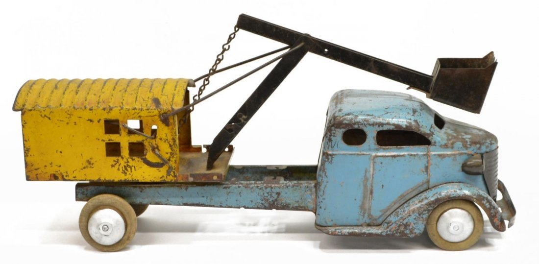 TURNER TOY STEAM SHOVEL TRUCK - 3