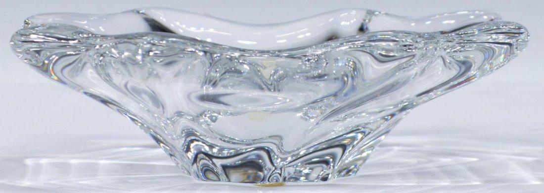 (3) BACCARAT BOWL & WATERFORD CREAMER & SUGAR - 2