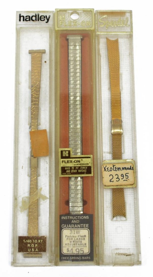 (156) NEW WATCH BANDS, SPEIDEL, HIRSCH, FLEX-ON - 3