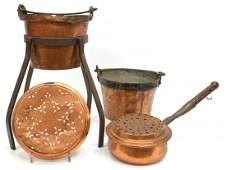 (4) CONTINENTAL IRON MOUNTED COPPER GROUP