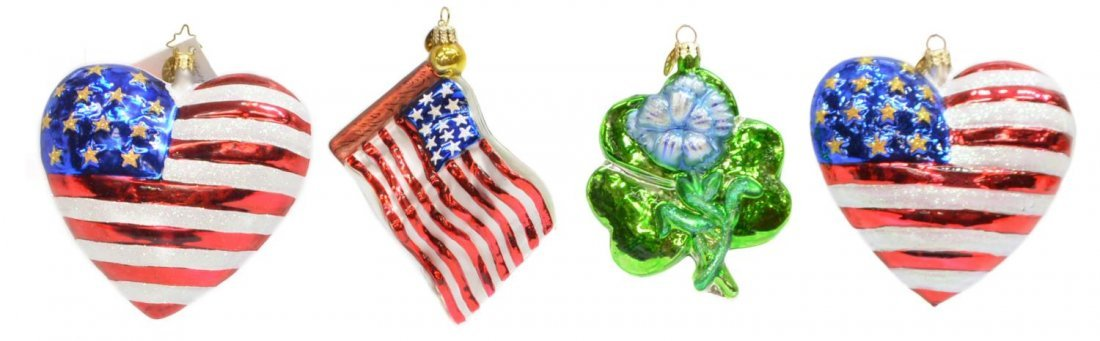 (34) CHRISTOPHER RADKO & OTHER CHRISTMAS ORNAMENTS - 6