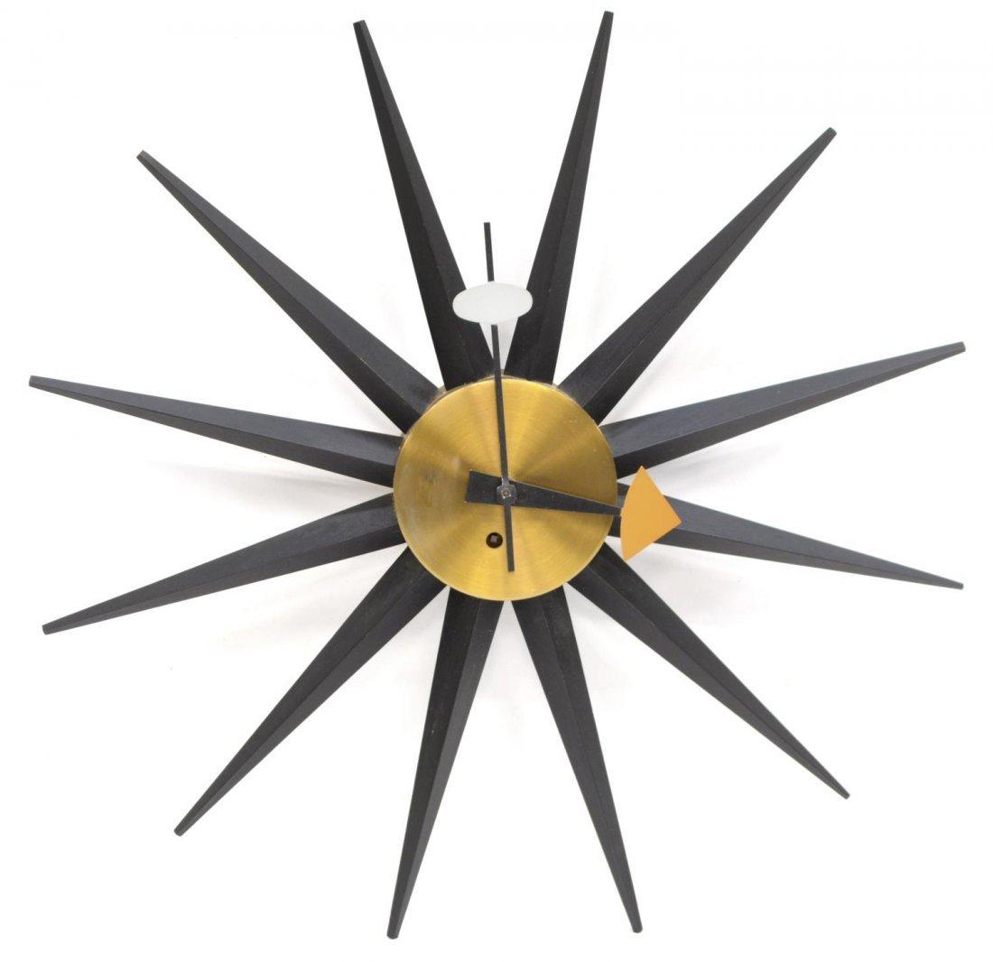 MID-CENTURY GEORGE NELSON / HOWARD MILLER CLOCK