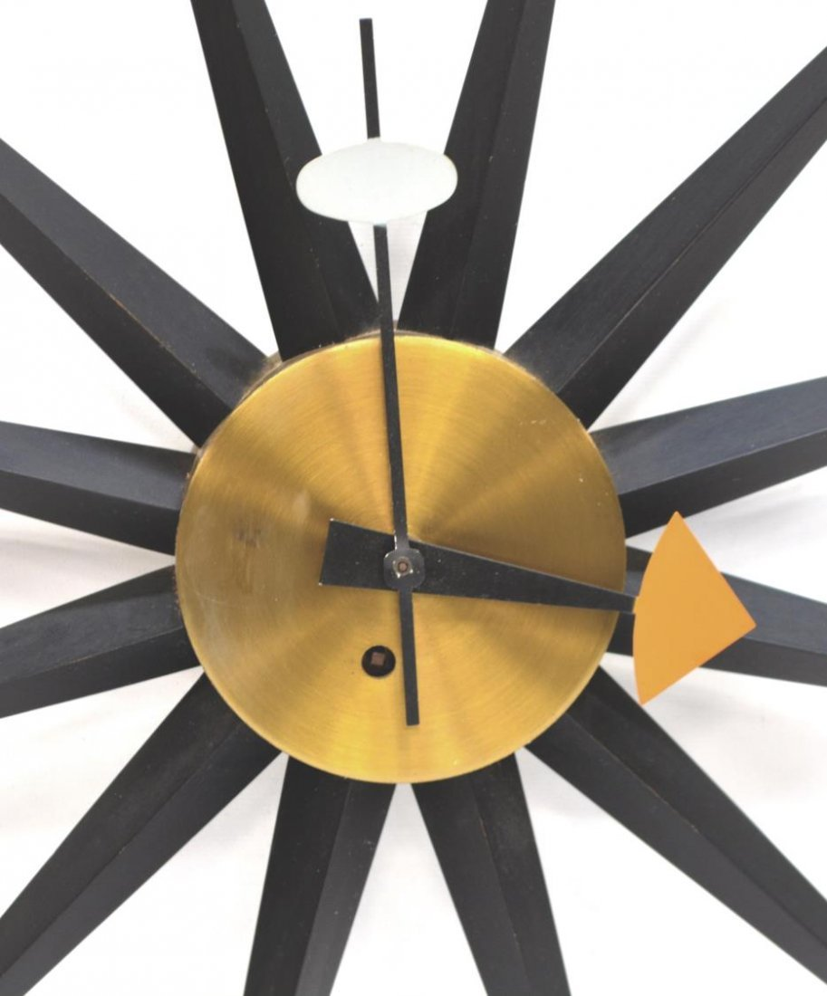 MID-CENTURY GEORGE NELSON / HOWARD MILLER CLOCK - 2