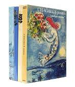 3 MARC CHAGALL CATALOGUE RAISONNE BOOKS III IV V