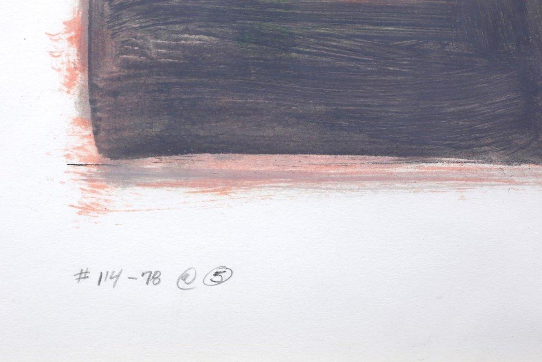 WILLIAM ANZALONE (TEXAS B. 1935) MIXED MEDIA ART - 4