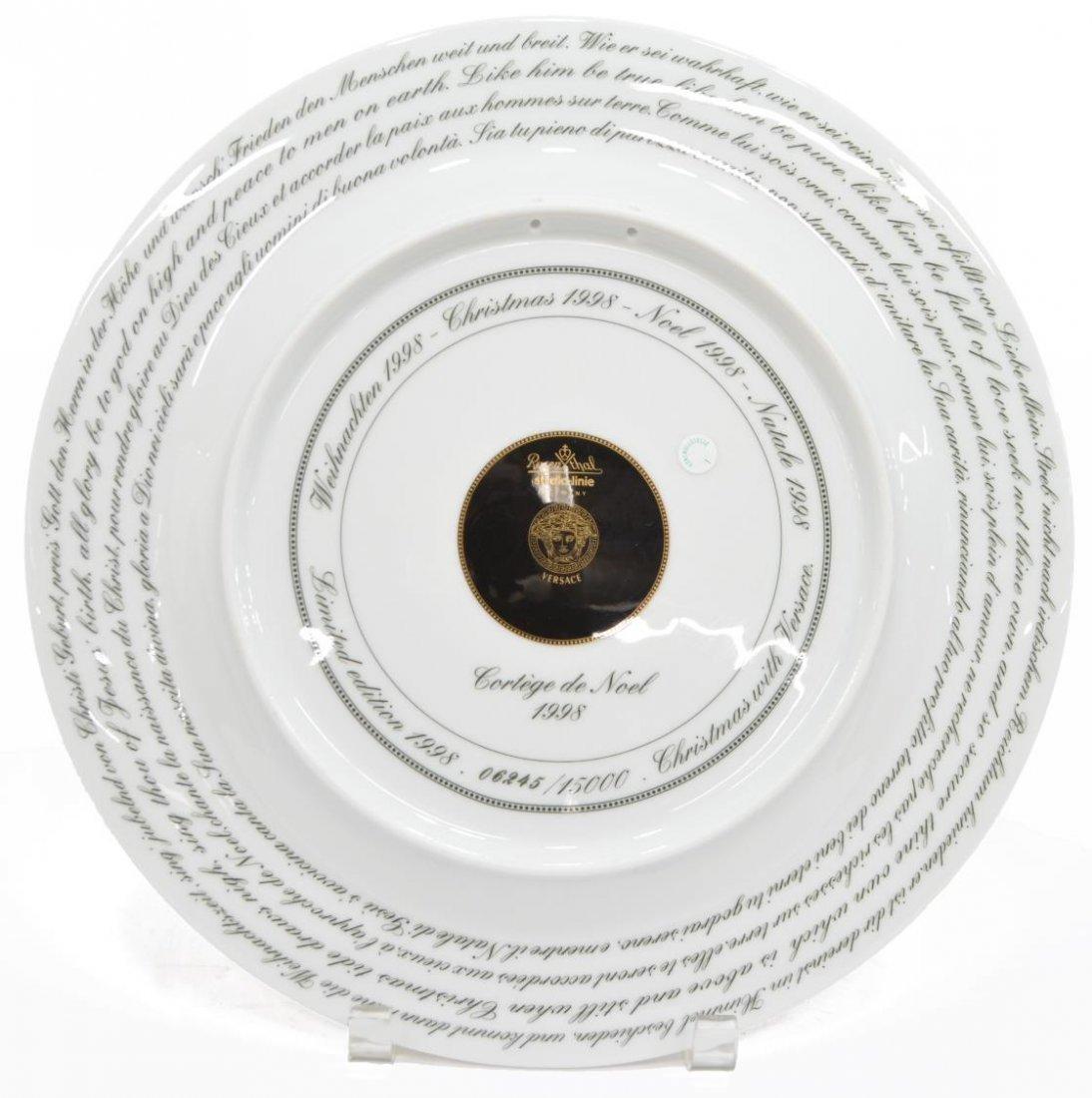 (5)VERSACE ROSENTHAL GILT PORCELAIN CABINET PLATES - 5
