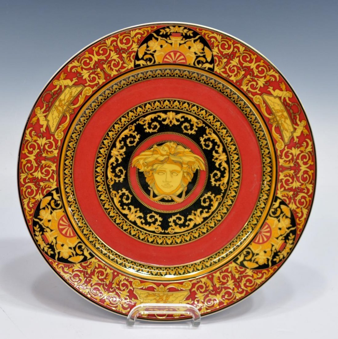 (5) VERSACE ROSENTHAL CHRISTMAS & CABINET ITEMS - 2