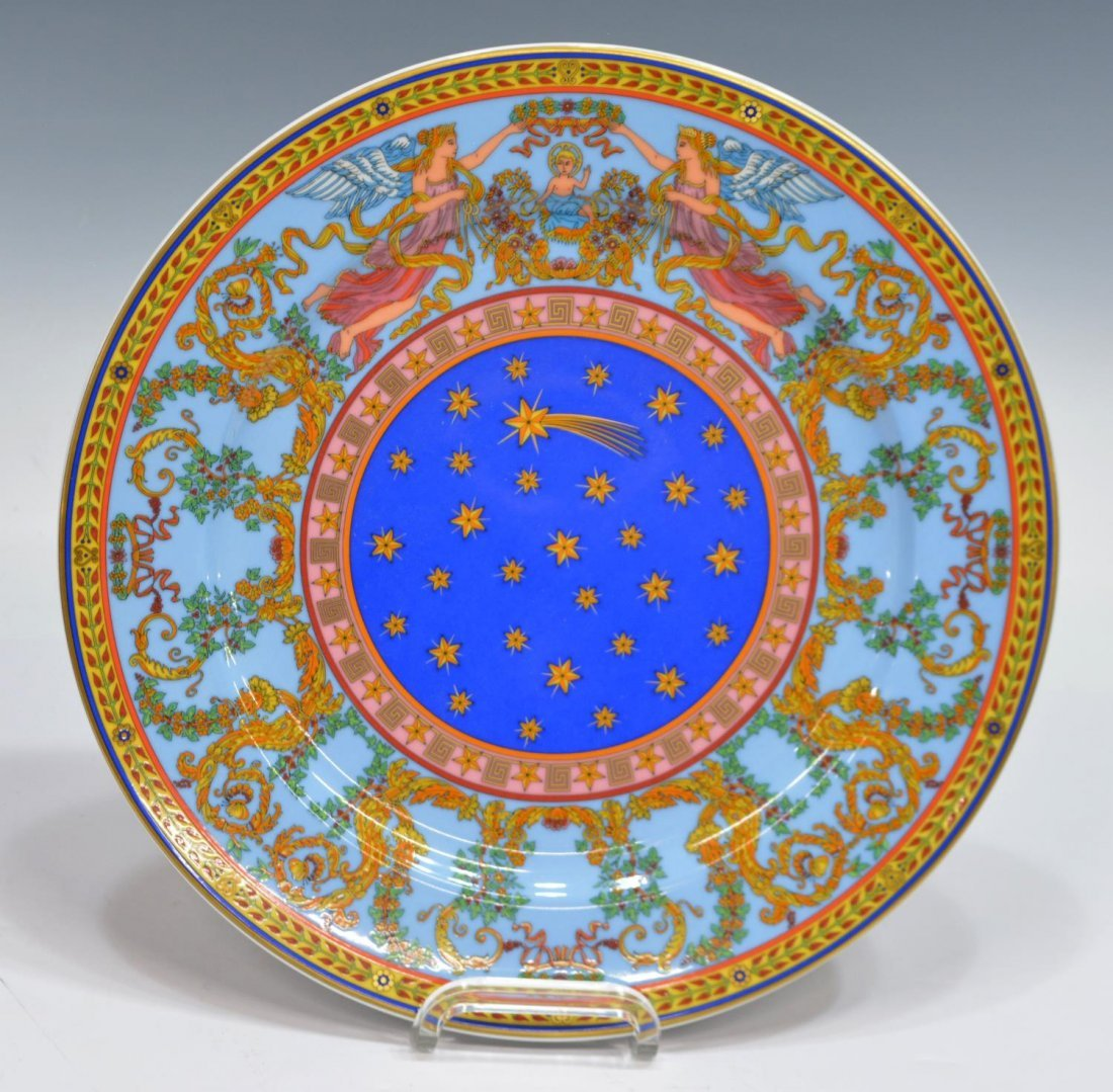 (5) VERSACE ROSENTHAL CHRISTMAS & CABINET ITEMS - 3