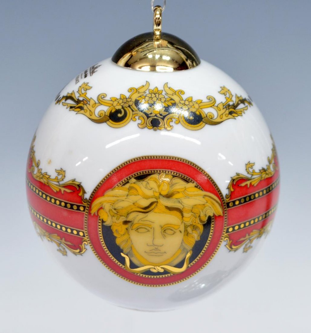 (5) VERSACE ROSENTHAL CHRISTMAS & CABINET ITEMS - 6
