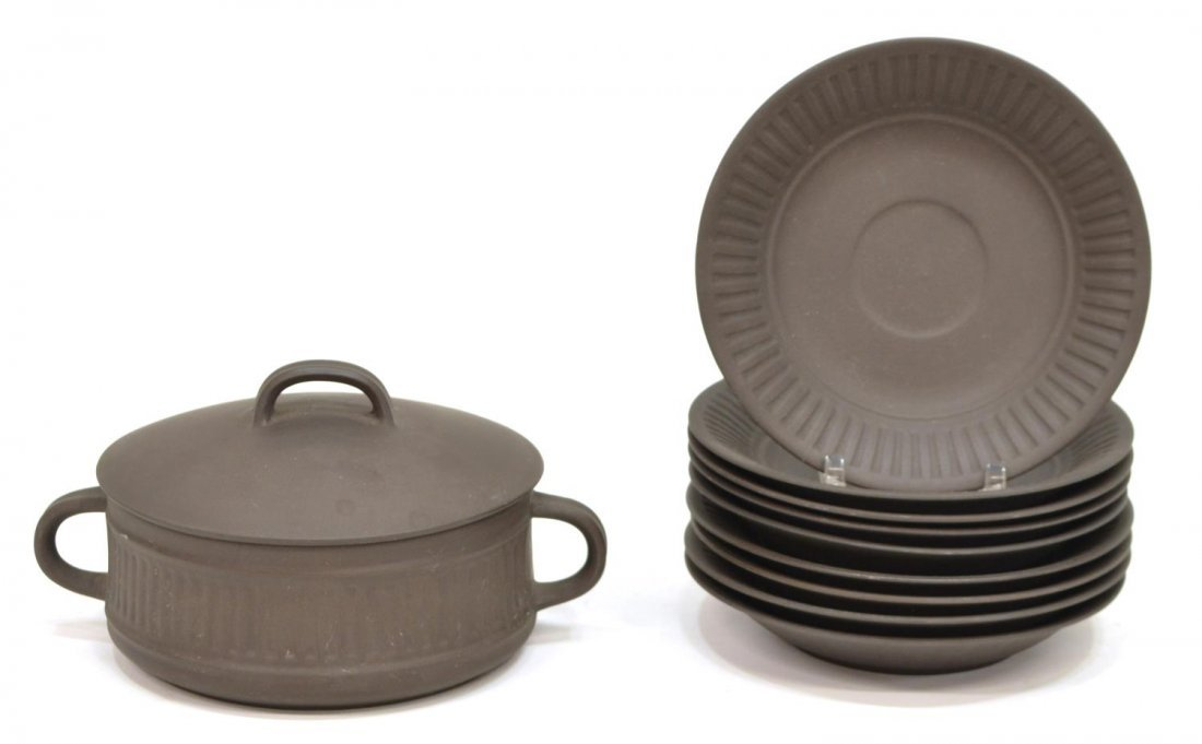 (30) DANSK MID-CENTURY 'FLAMESTONE' DINNER SERVICE - 4