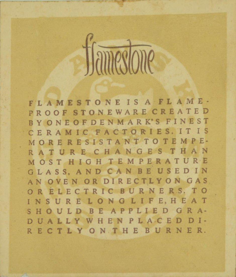 (30) DANSK MID-CENTURY 'FLAMESTONE' DINNER SERVICE - 8