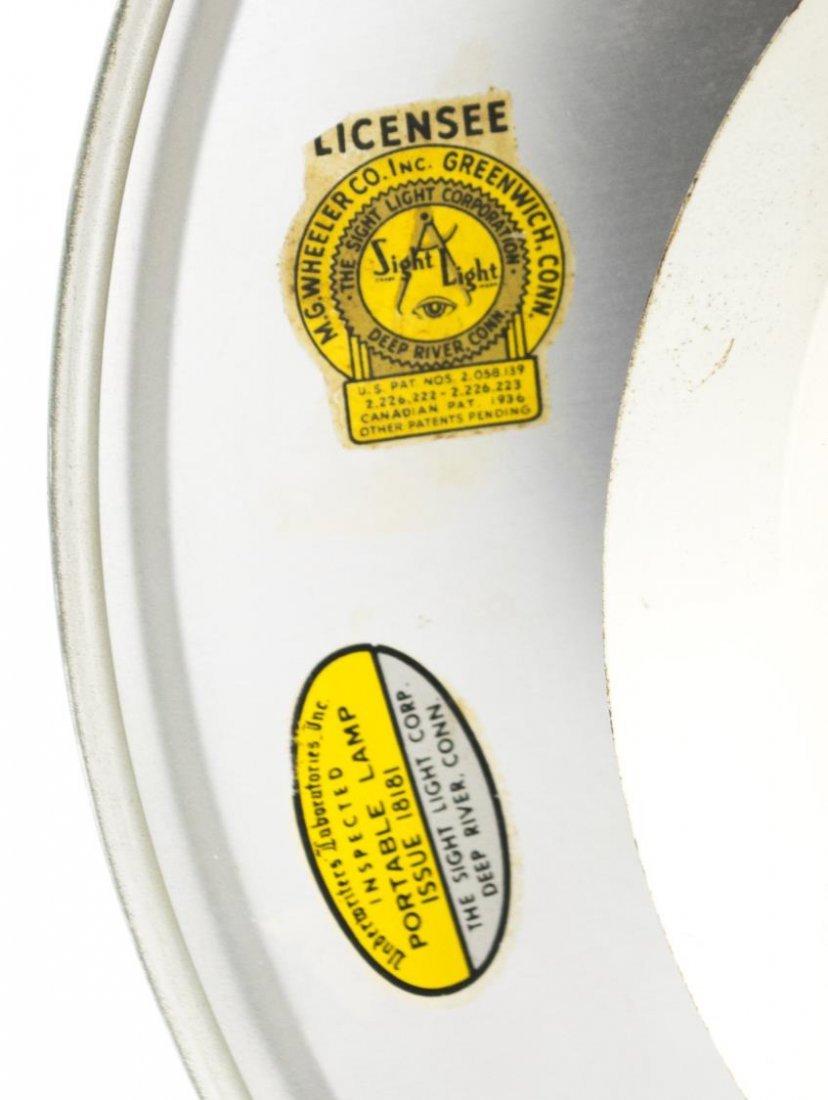 AMERICAN 'SIGHT LIGHT' TABLE LAMP, WHEELER CT. - 3