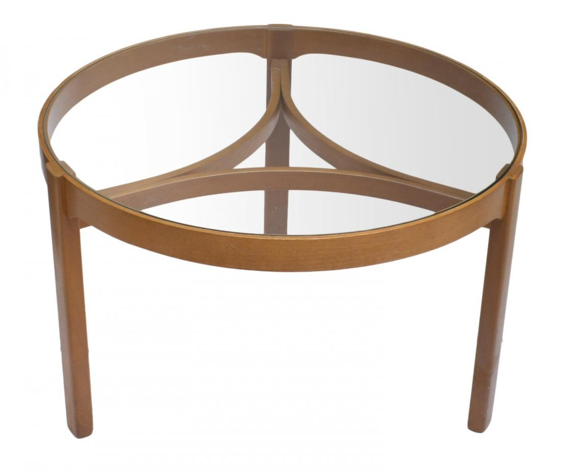 ENGLISH MID-CENTURY MODERN STYLE NESTING TABLES - 3