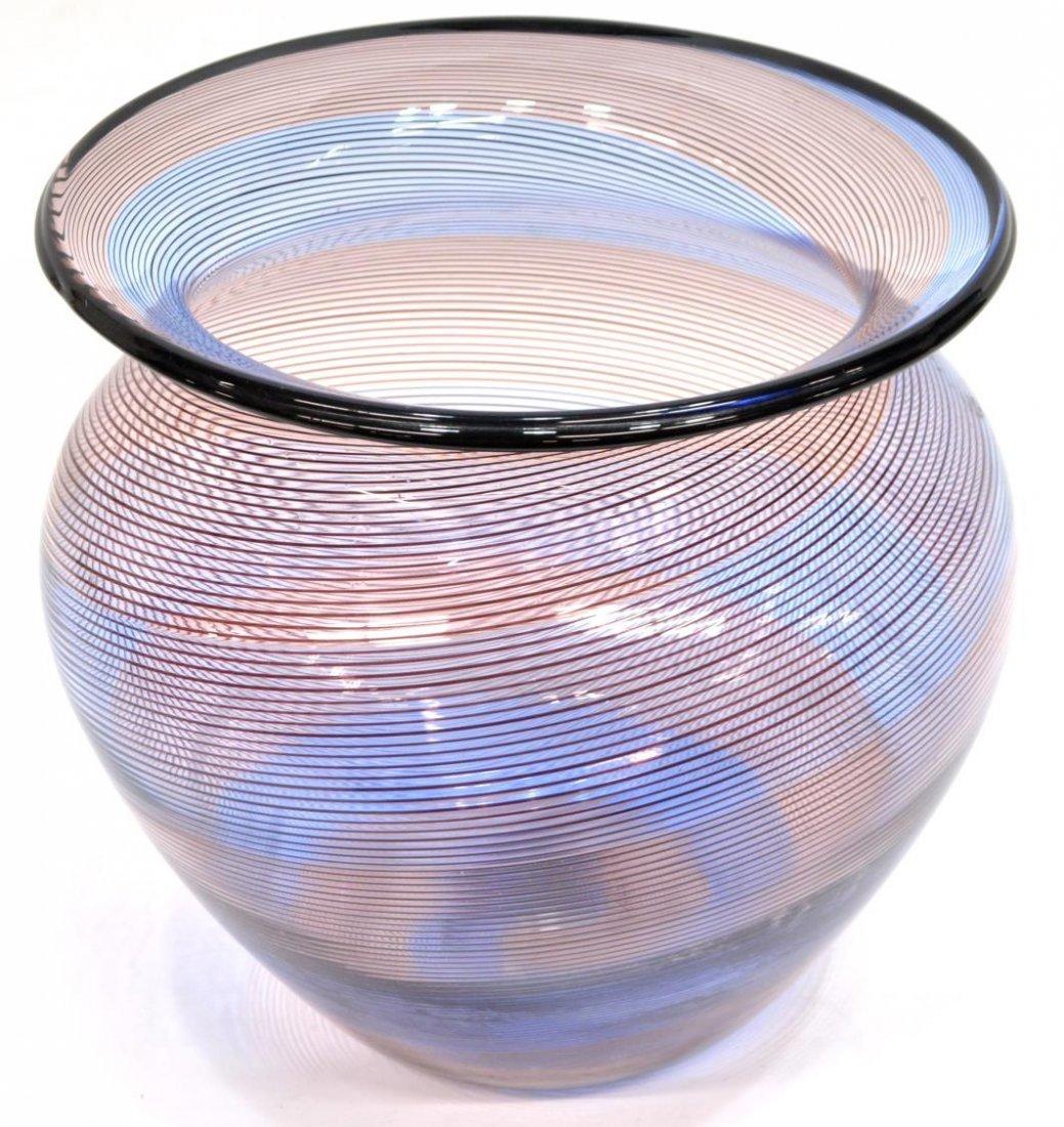 BAROVIER & TOSO MURANO ART GLASS VASE & BOWL - 2