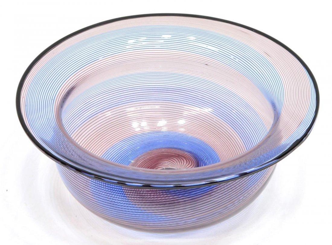 BAROVIER & TOSO MURANO ART GLASS VASE & BOWL - 3