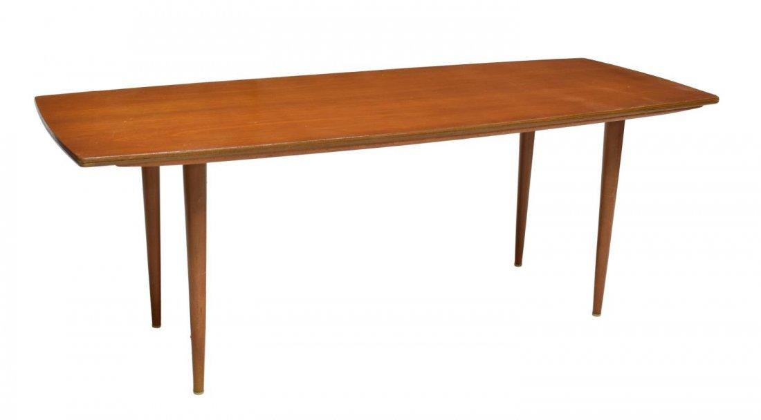 DANISH MID-CENTURY MODERN TEAKWOOD COFFEE TABLE