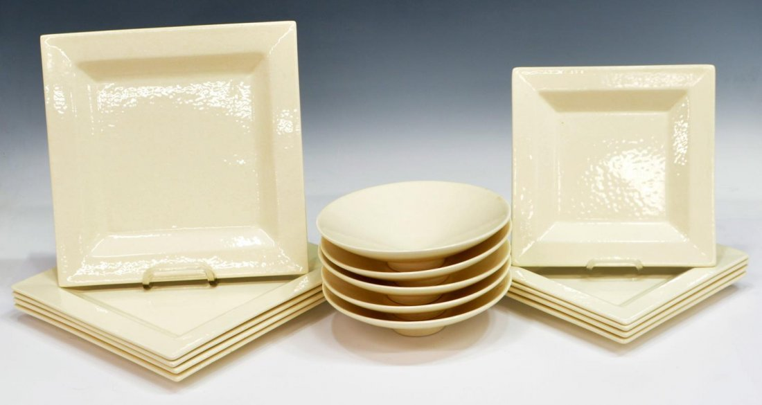 (15) CONTEMPORARY MOLIN FRANCE DINNER SET FOR 5