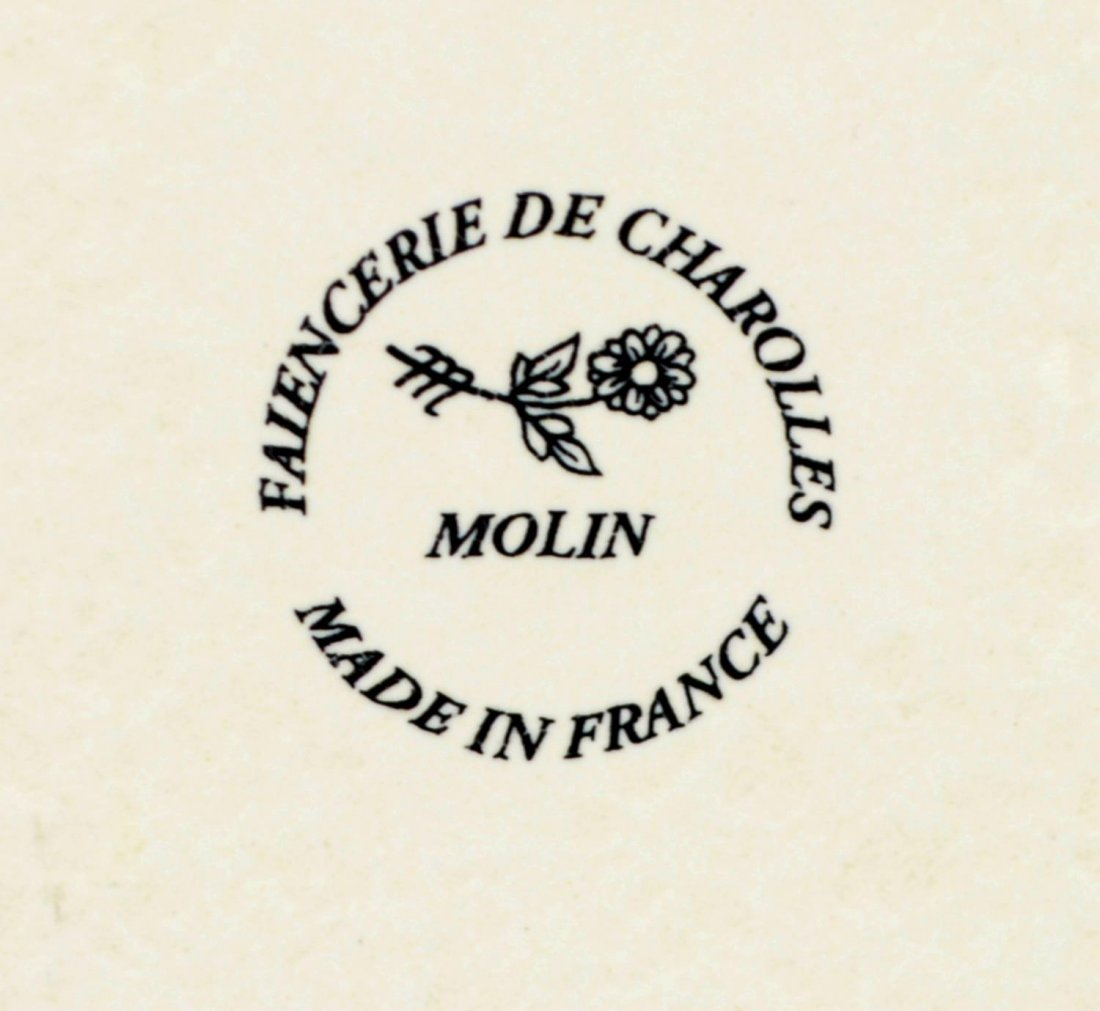 (15) CONTEMPORARY MOLIN FRANCE DINNER SET FOR 5 - 5