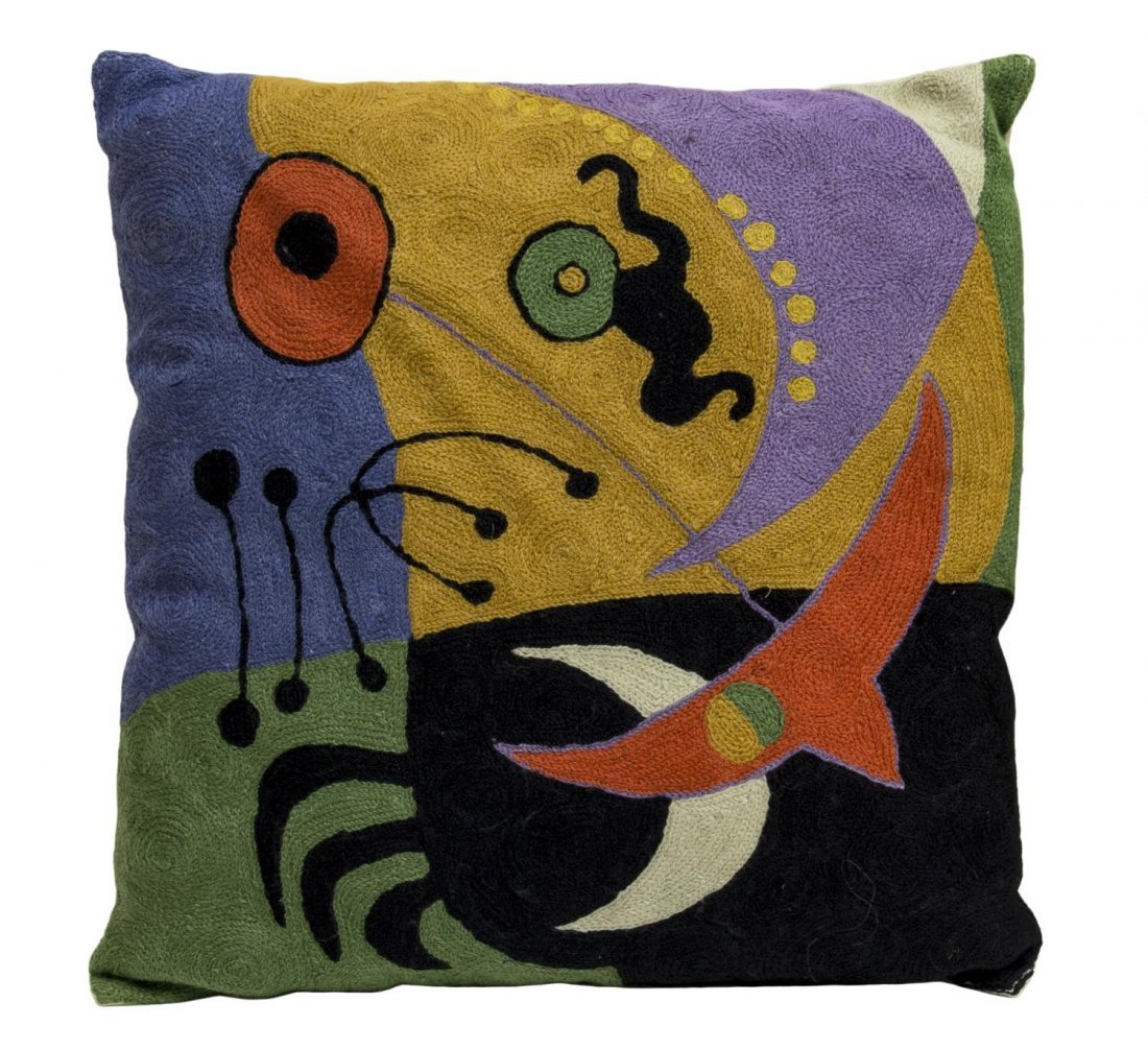 (4) DESIGNER PILLOWS, (2) FORNASETTI BY MARCATO - 2