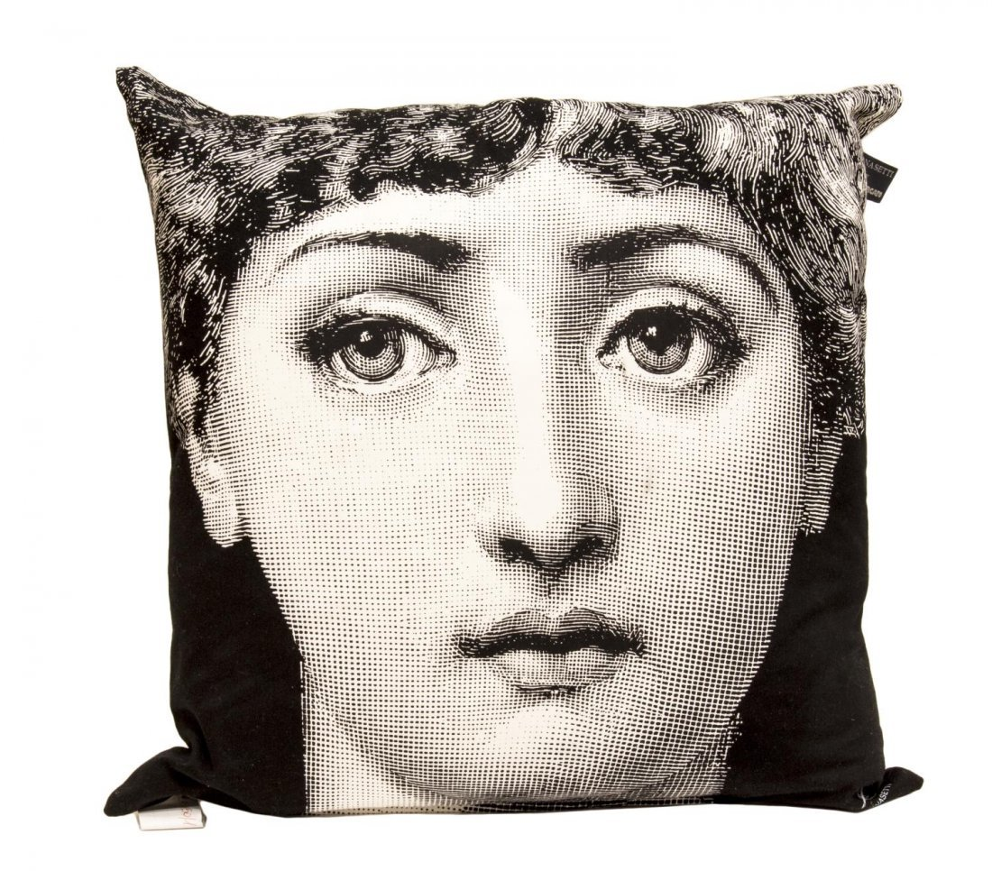 (4) DESIGNER PILLOWS, (2) FORNASETTI BY MARCATO - 4