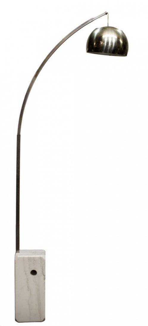 ITALIAN MODERN ARCO FLOOR LAMP ACHILLE CASTIGLIONI - 2