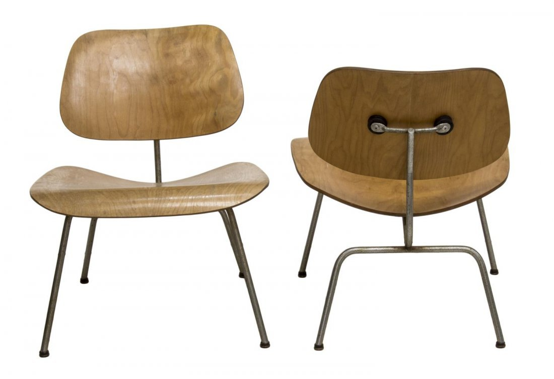 (2) LCM CHAIRS, CHARLES & RAY EAMES, HERMAN MILLER - 2
