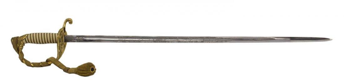 U.S. NAVY OFFICER SWORD & BULLION SWORD KNOT - 3