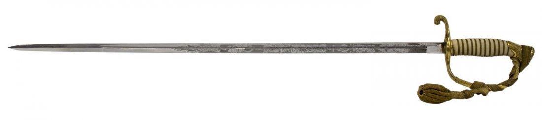 U.S. NAVY OFFICER SWORD & BULLION SWORD KNOT - 4