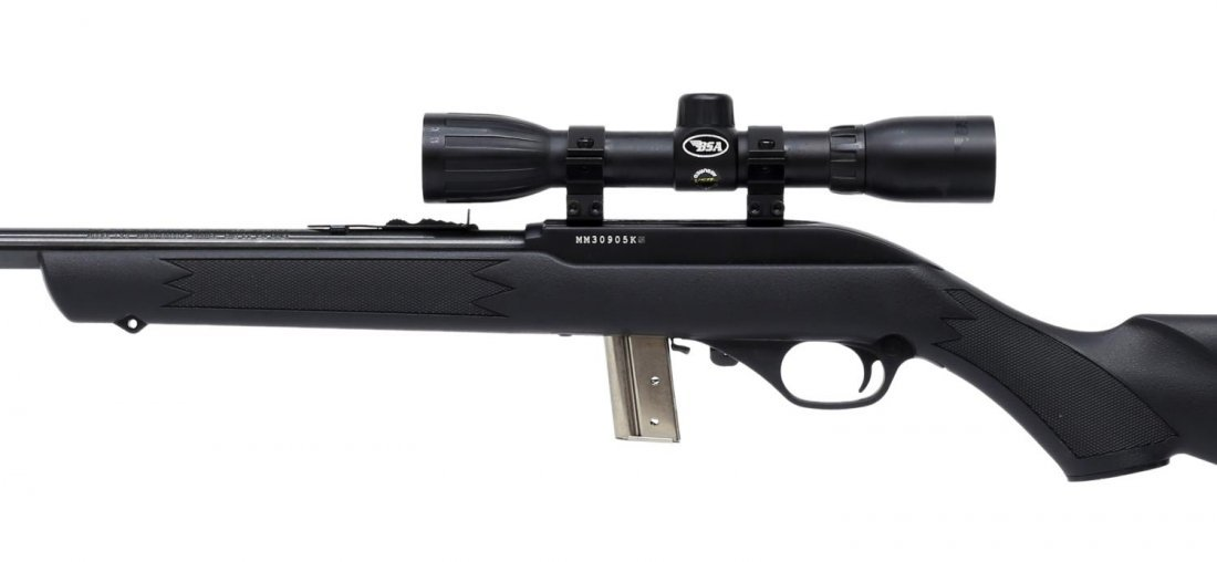 MARLIN MODEL 795 AUTO LOAD RIFLE, .22 CAL, SCOPE