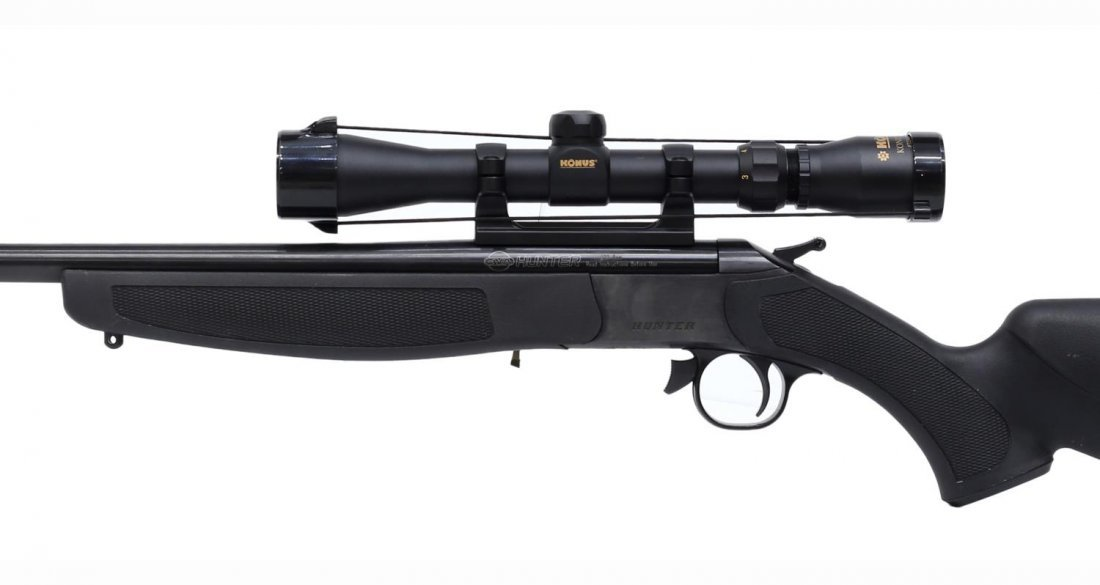 CVA COMPACT HUNTER RIFLE, .224 REM CALIBER
