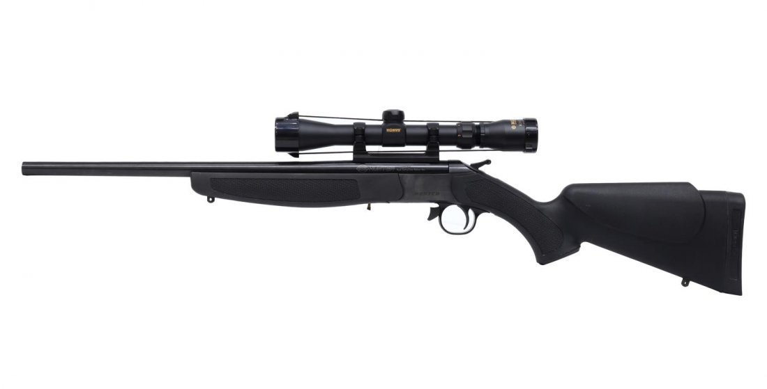 CVA COMPACT HUNTER RIFLE, .224 REM CALIBER - 2