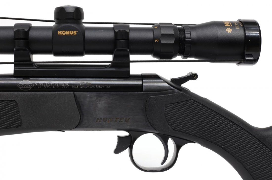 CVA COMPACT HUNTER RIFLE, .224 REM CALIBER - 3