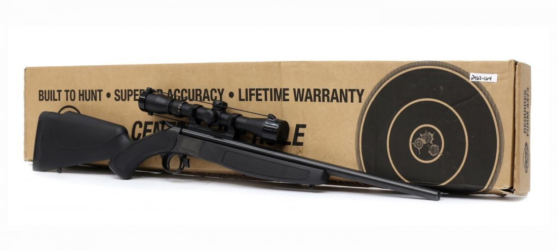 CVA COMPACT HUNTER RIFLE, .224 REM CALIBER - 6
