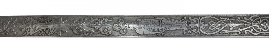 KNIGHTS OF PYTHIAS SWORD, C. 1900 - 5