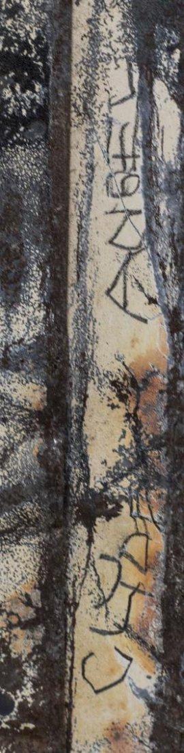 CLYDE ANGEL (1920-2006) OUTSIDER ART METAL FIGURE - 3